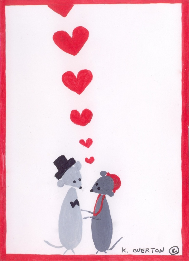 Kimberly Red Valentines Mice-1